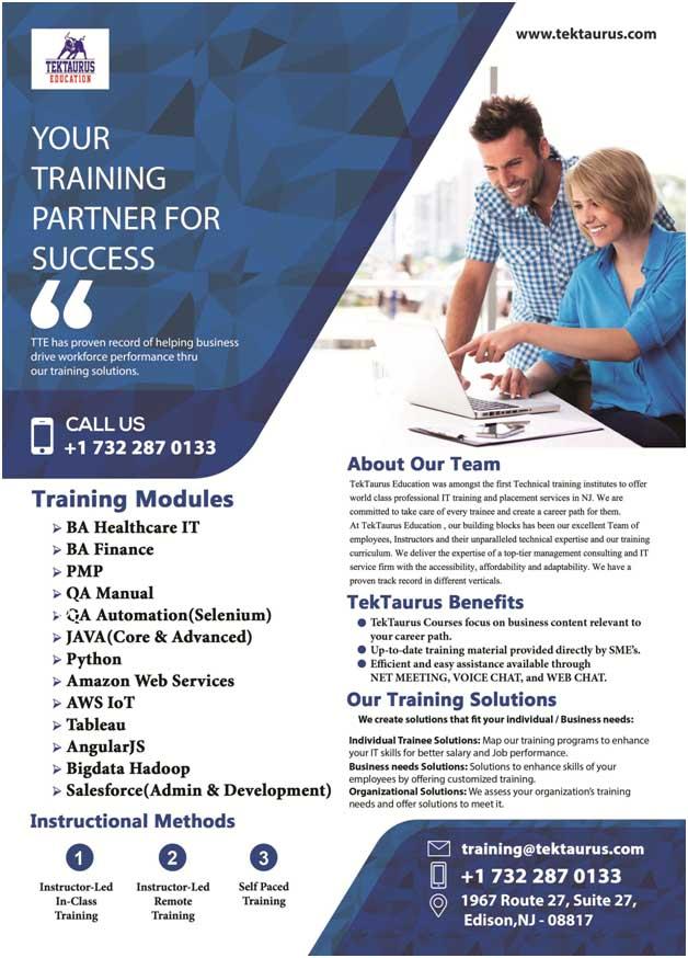 Corporate Training in Edison